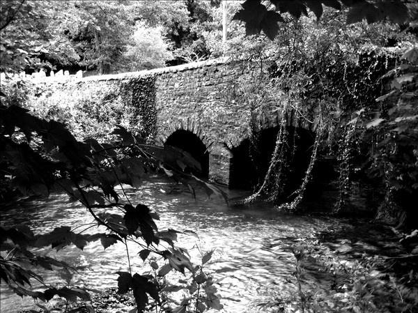 Mill Farm Bridge, Pyle by ASM9633