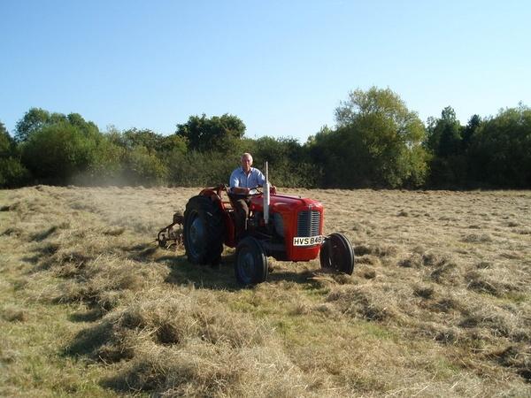 Tedding hay again by lindah303