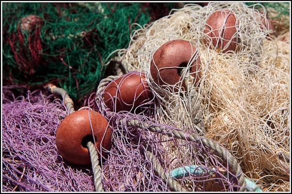 Fishing nets Latchi Cyprus by Phil_Bird