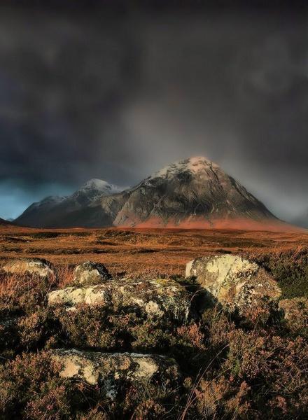 stormy sky by davidcollins