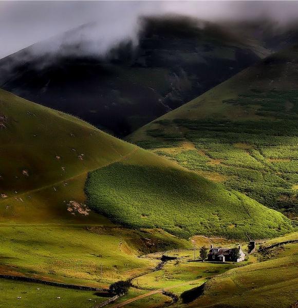 sunshire on a rainy day by davidcollins