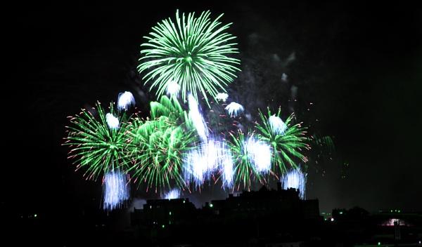 fireworks by shona