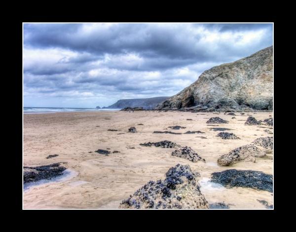 Porthowan Beach by Freezeframe