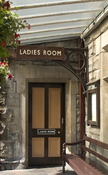Ladies Room by LindaSilcock