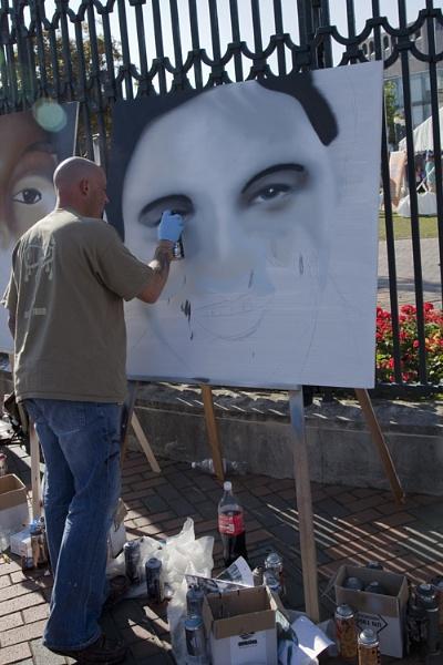 Street artist by ensign