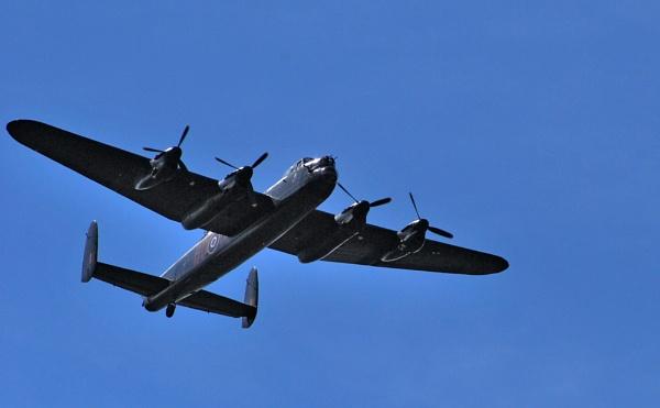 Avro Lancaster Bomber by BERTRAM