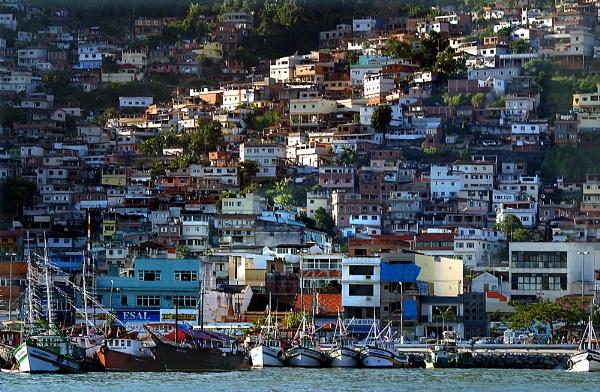 Brazil Port town by gribishok