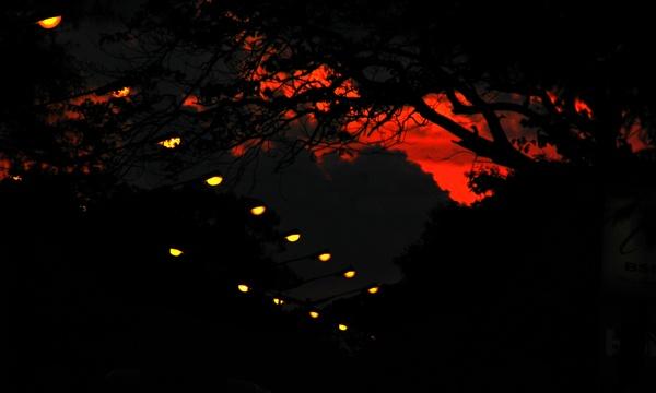 An Evening in Kolkata by Saibal