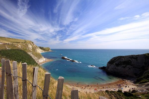 Dorset coast by acididko