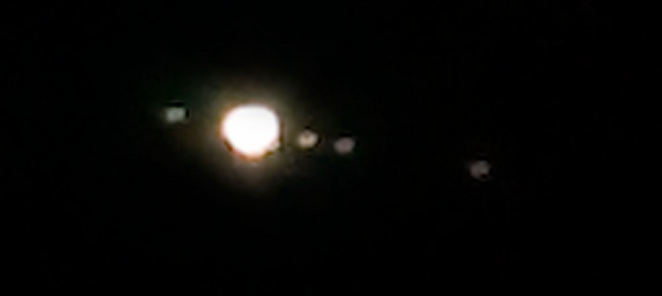 Jupiter and Moons by barral