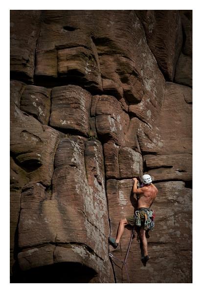 Rock Climber by ian.daisley