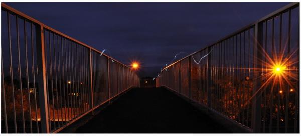 Footbridge by stepenowsky