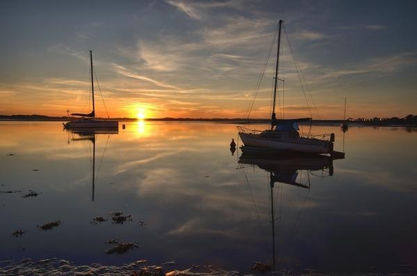sunset cumbria by hotchef23