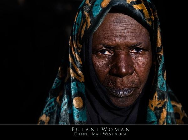 Fulani Tribeswoman by RobD