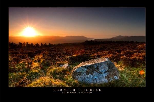 Bernish Sunrise by maytownme