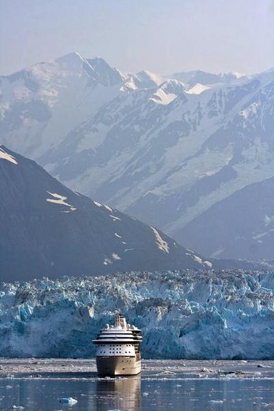 Hubbard Glacier by JGCurry
