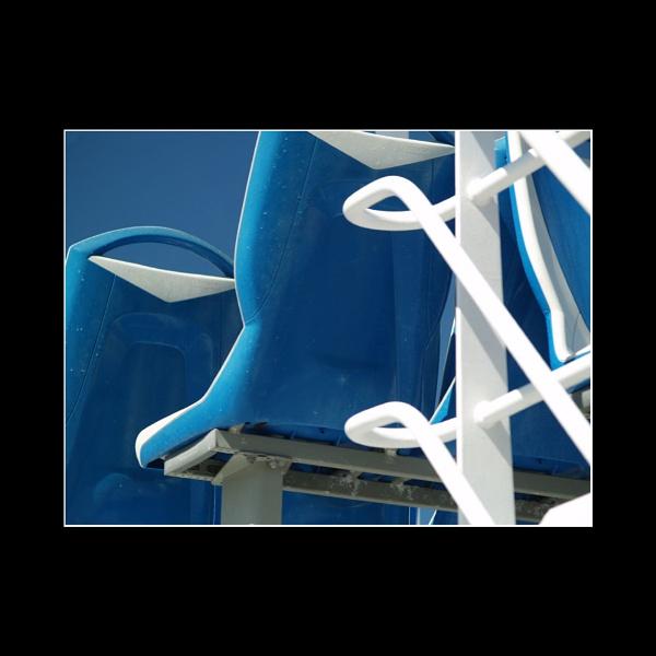 Sea Seats in Blue by JdeNLucas