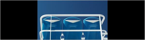 Sea Seats in Blue 2 by JdeNLucas