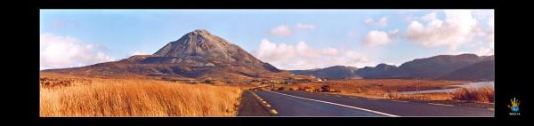 Errigal Panoramic by danjo