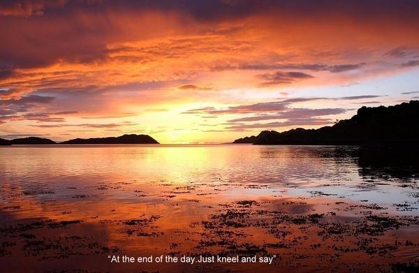 Sunset at Diabaig by bazmorgan