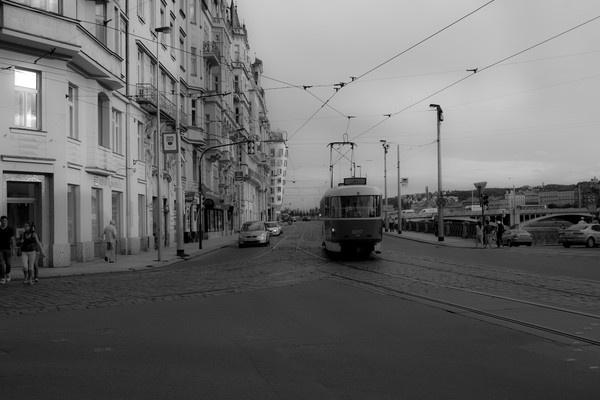 Tram by dclarke