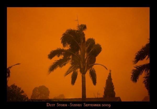Sydney Australia Dust Storm Today by Jodes