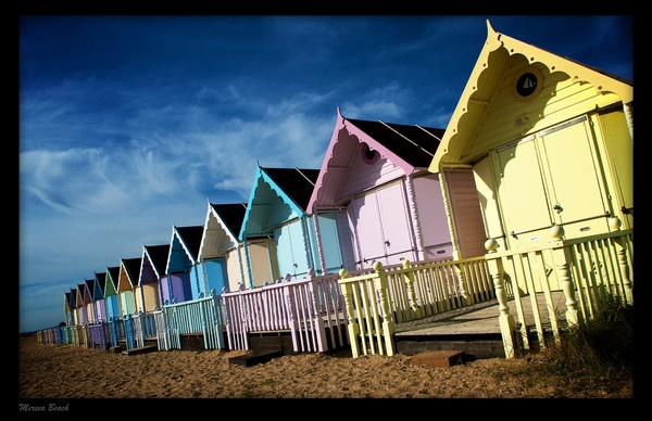 Mersea Beach Huts by AllyBoy