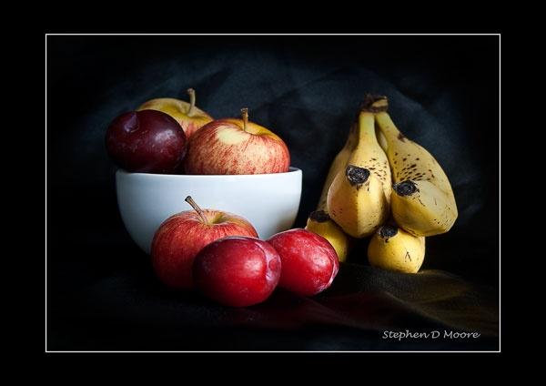 Fruit still life by StephenDM