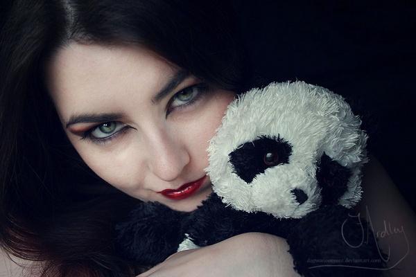 Panda Love by Eruraina
