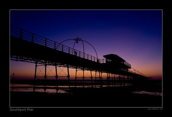 southport sunset by martinlmr
