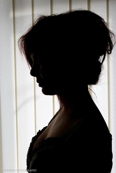 Girl in the window by Oshea