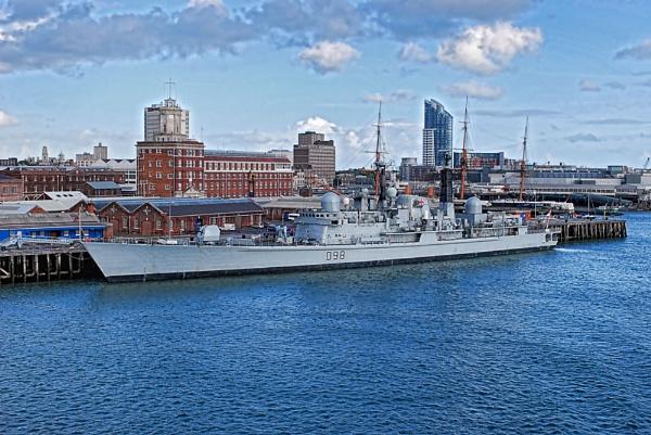 HMS York by BERTRAM