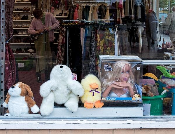 Charity Shop Bling by JBA