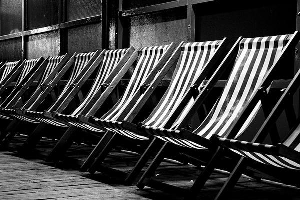 No Sunbathers Today by urdygurdy