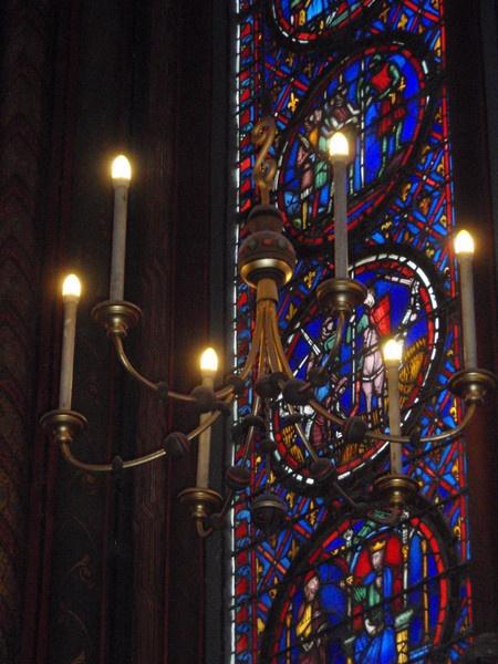 Lights in St Chapelle by lindah303