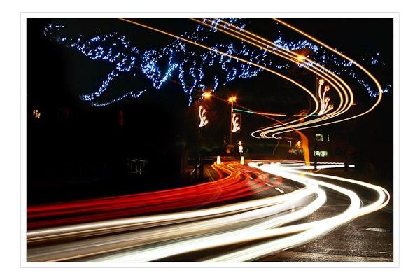 Light trails by Phil_Bird