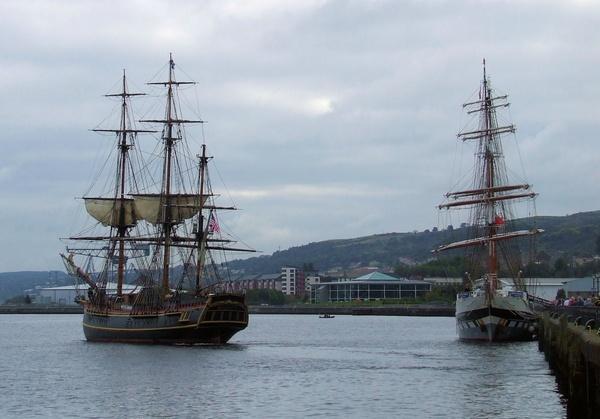 HMS Bounty by Rab_H