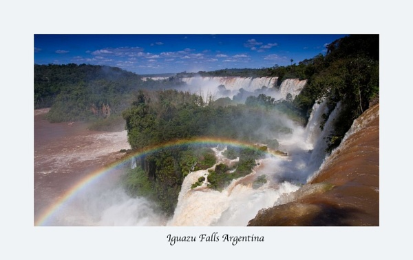 Iguazu Falls Agrentina by skydivemike