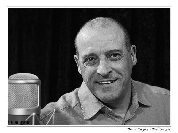 Bram Taylor - Folk Singer by PeterBee