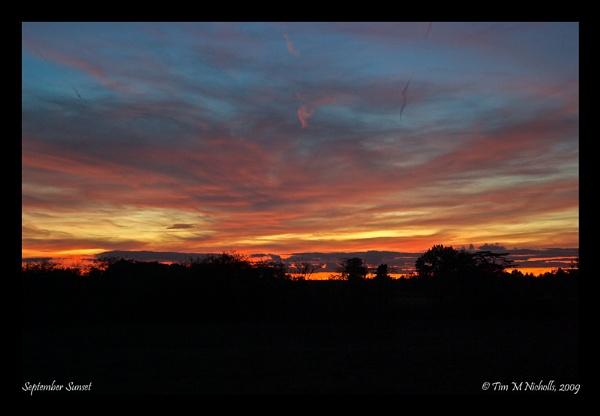 September Sunset by Ammonyte