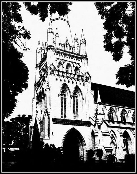 Singapore Church by Rogerex