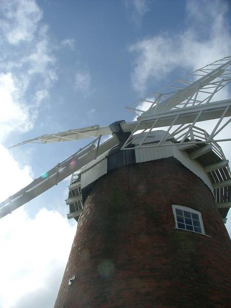 Horsey mill (Norfolk) by Rosie_cheeks
