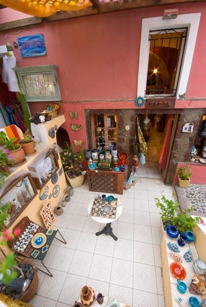 Santorini shop by WILDIMAGES