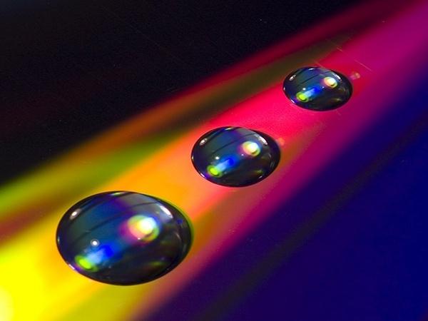 Rainbow Drops by Graham_Rainham