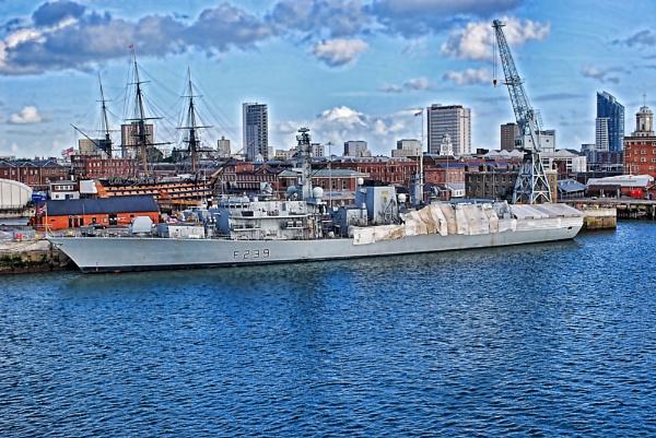HMS Richmond by BERTRAM