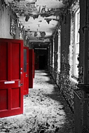 west park asylum - the red doors