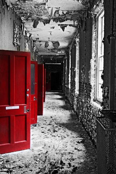 west park asylum - the red doors by ashminder