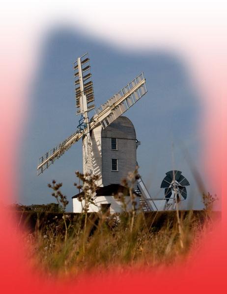 Saxtead Green Post Mill by marathonman
