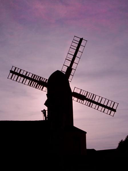 Saxstead Mill by marathonman