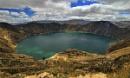 Quilotoa Lake, Ecuador